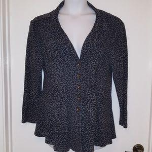 XCVI fleece blazer